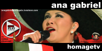 Start the ANA GABRIEL HomageTV by TVSALOON.COM >>>