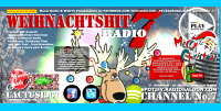Start the CHRISTMAS.RADIOSALOON.COM by Santa Claus!